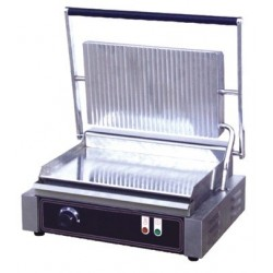GRILL PLACA INFERIOR LISA – SUPERIOR RANURADA